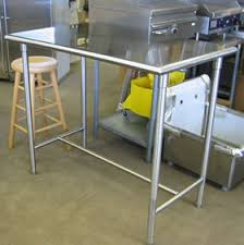 stainless steel bar table stainless steel tables high bar tables stainless steel bar table