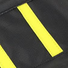 motoseat suzuki drz400 ribbed black yellow seat cover at mxstore
