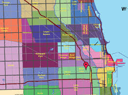 Chicago Maps by Map Chicago Neighborhoods Afputra Com