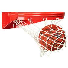 Adjustable Basketball Hoop Wall Mount Ultimate Front Mount Playground Basketball Goal Bison Inc
