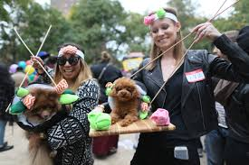 hallow ween new york park goes to the dogs for halloween parade the japan times