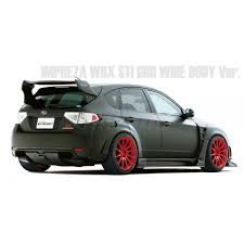widebody subaru impreza hatchback varis wide body kit full kit b