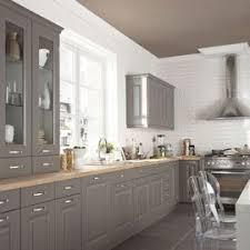 cuisine taupe et gris cuisine gris taupe esprit bistrot http m habitat fr par pieces