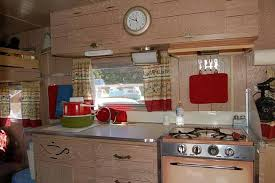 Trailer Kitchen Cabinets Vintage Aladdin Trailers From Oldtrailer Com