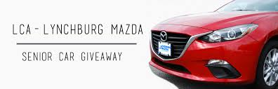 web mazda liberty christian academy lca lynchburg mazda senior car giveaway