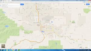 Ojai California Map Palmdale California Map