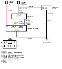 2009 dodge calipa wiring and pin diagram for power inverter from