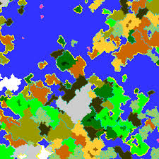 World Biomes Map by Some Vanilla Biomes Missing