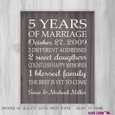 5th year anniversary gift simple 5 year wedding anniversary gift b74 in pictures selection