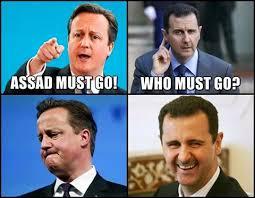Cameron Meme - who must go mr cameron asks assad