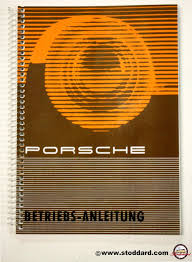 wkd 460 110 driver u0027s manual 356b t5 porsche factory reprint in