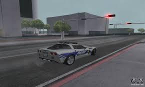 police corvette chevrolet corvette z06 police for gta san andreas