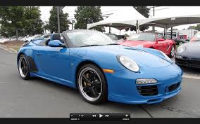 2011 porsche 911 speedster 2011 porsche speedster 262 of 356 start up exhaust and in
