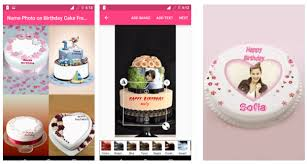 name photo on birthday cake android app to add photos to birth day