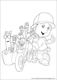 handy manny coloring pages educational fun kids coloring pages