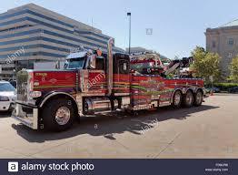 heavy duty tow truck usa stock photo royalty free image