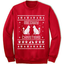 meowy christmas sweater meowy christmas sweater gifted shirts