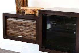 fireplace tv stand floating wall mount eco geo espresso woodwaves