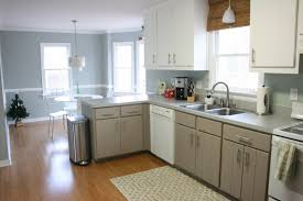 paint kitchen cabinets without sanding black granite countertops
