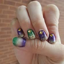 45 best mardi gras nail art images on pinterest magazines nails