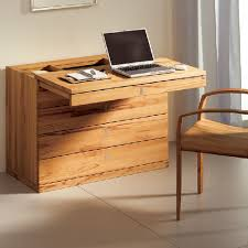 Small Wood Computer Desk Interesting Computer Desk For Small Space Best Home Design Ideas