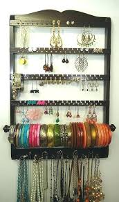jewelry holder necklace images Wall mount jewelry holder rollfast info jpg