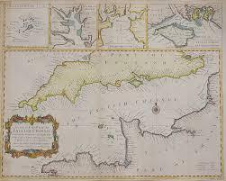 English Channel Map Michael Jennings Antique Maps Spring Newsletter Mickjennings