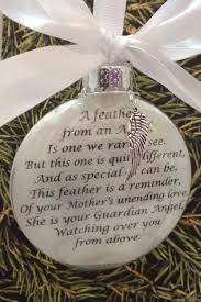 in memory ornament w charm