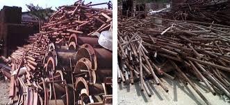 Besi Scrap jual beli dan lelang besi tua timah aluminium terima barang