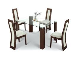 Set Of Four Dining Chairs Four Dining Room Chairs 4 Dining Room Table Chairs Black Dining
