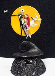 nightmare before christmas cake toppers nightmare before christmas wedding cake topper sally