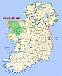 map of county the most comprehensive website on co mayo west of ireland mayo