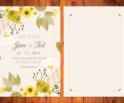 beautiful floral wedding card template vector art u0026 graphics