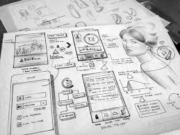 10 best sketch et wireframe images on pinterest paper wireframe