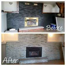 Whitewashing A Fireplace by White Washing A Fireplace How To With Amanda The Salvation