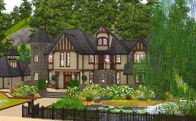 Tudor Style House Plans Mod The Sims Alcester House Modern Mock Tudor 3