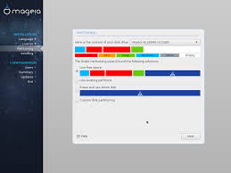 Unsupported Partition Table Installing On Systems With Uefi Firmware Mageia Wiki