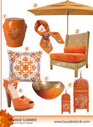 orange outdoor decor luxury interior design journalluxury