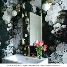 Best  Black Floral Wallpaper Ideas On Pinterest Eclectic - Bedroom wallpapers design