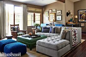 leather couch on white areas rugs decors white brown flower