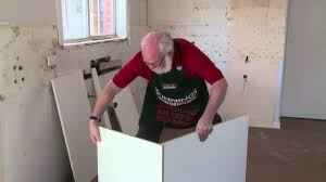 kitchen corner cabinet hinges bunnings how to assemble a blind corner base diy at bunnings