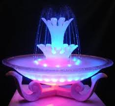 water fountain with lights wholesale music control dancing water mist fountain