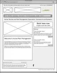 Table Ux Ux Design Wireframing Digiflip Website Development