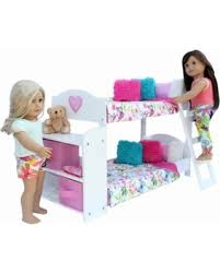 American Doll Bunk Bed Check Out These Deals On 20 Pc Bedroom Set For 18 Inch