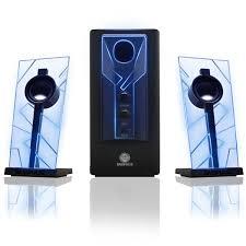 cool looking speakers review gogroove basspulse computer speakers