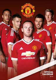 Manchester United Manchester United Fc Calendars 2018 On Europosters