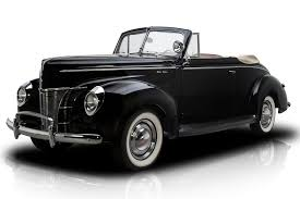 black convertible cars classic cars for sale at rk motors