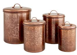 bronze kitchen canisters avignon 4 etched kitchen canister set reviews
