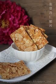 cuisiner brocolis surgel駸 爱厨房的幸福之味 麦芽杏仁香脆饼 year recipes