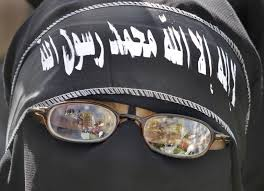 arab headband s islamic extremists show their strength the times of israel